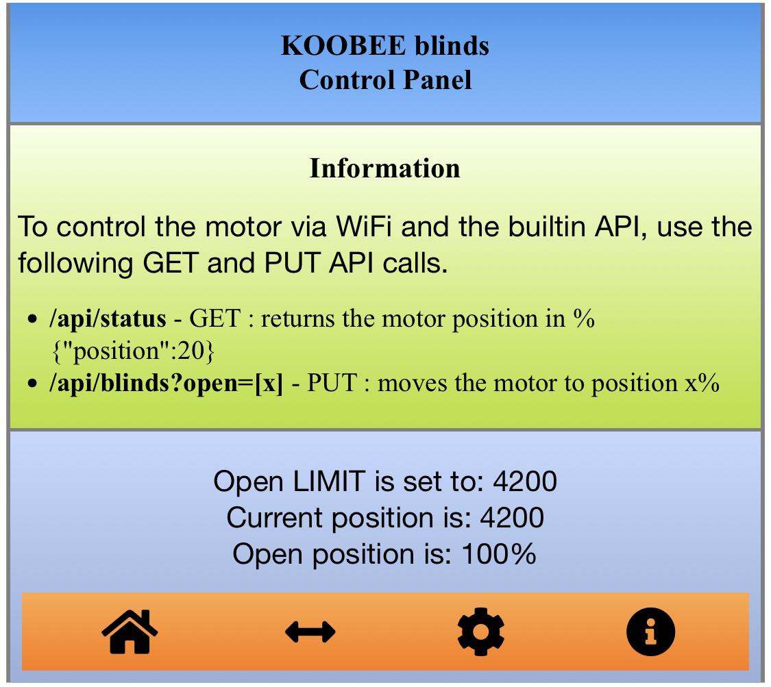 GUI Information